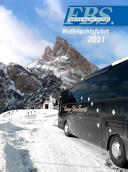 Weihnachtsfahrt 2011