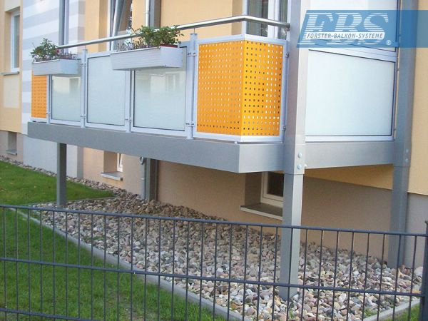 Aluminium-System-Balkon von FBS in Lehrte