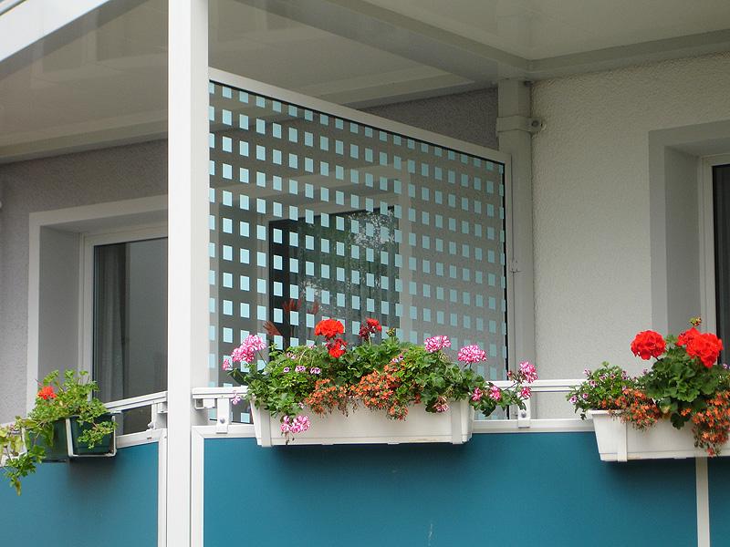 Sichtschutz Aus Glas Dsp Acryl Und Hpl Platte Fur Ihren Fbs Balkon