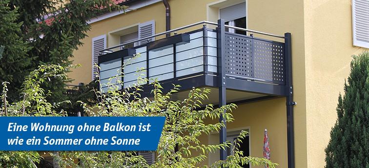 Gut gemocht Aluminium-Balkone, Beton-Balkone und Stahl-Balkone von FBS Förster JP01