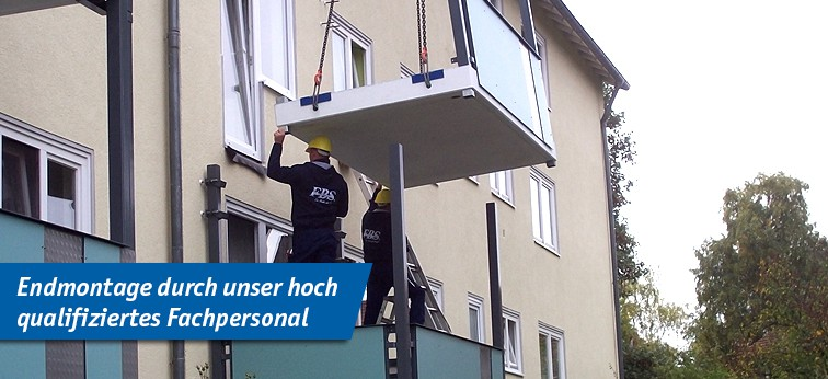 Aluminium Balkone Beton Balkone Und Stahl Balkone Von Fbs Forster